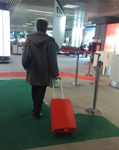 valigia partenza
