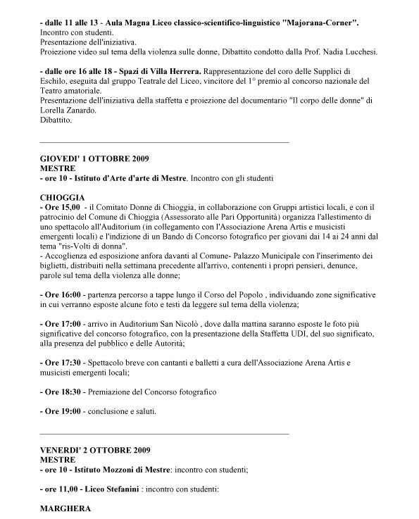Programma_Iniziative staffetta3 VENEZIA